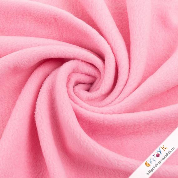 Флис розовый [FG-001-156]
