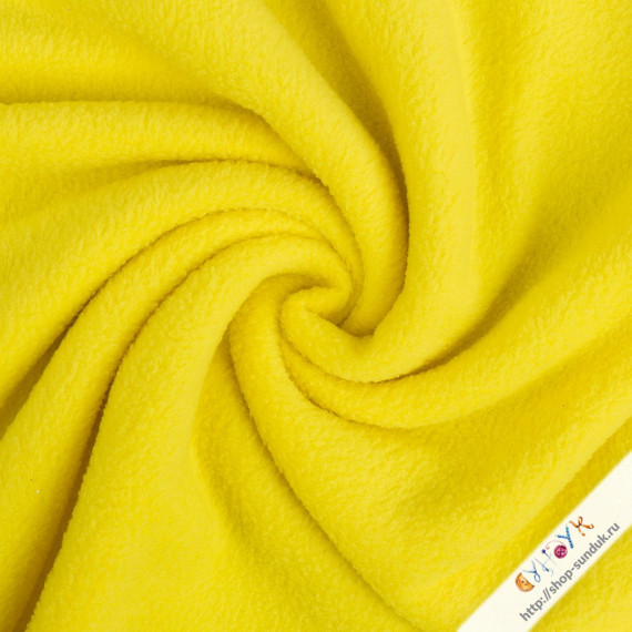 Флис желтый [FG-001-383]