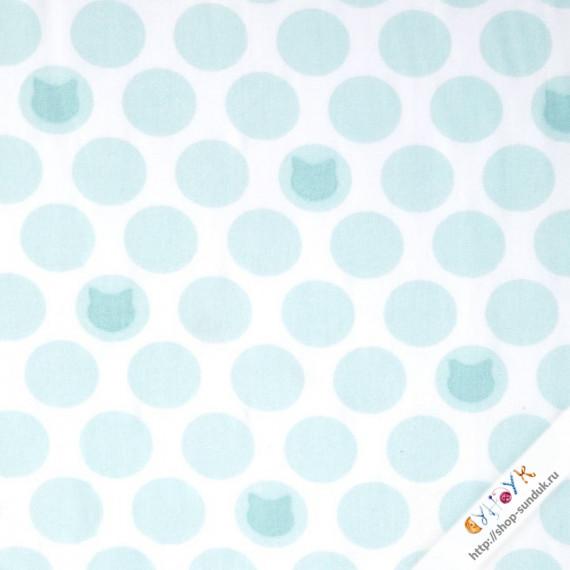 Little Prints Double Gauze [SRK-16195-63 SKY]
