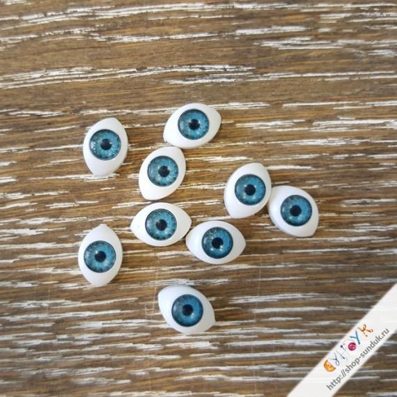 Глаза кукольные акриловые 11мм [11-голубой]