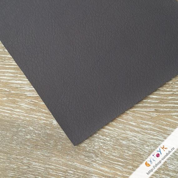 Экокожа 1мм темно-коричневый [6868]